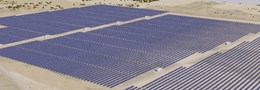 Solar farm at Longreach