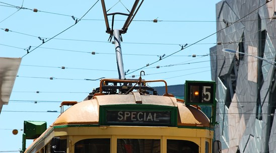 Image of Solar-powered trams
