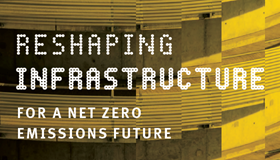 Reshaping Infrastructure for a net zero emissions future