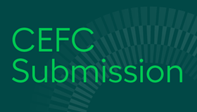 CEFC submission to the CEFC Statutory Review